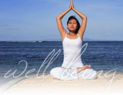 philadelphia energy healing sessions - lady on beach meditating